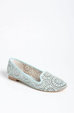 Oh la la! Vince Camuto Perforated Loafer Flat