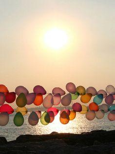 Outdoor Balloon Divider