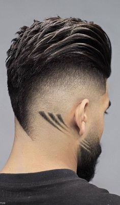 60 Most Creative Haircut Designs with Lines Creative Haircuts, Stylish Haircuts, Cool Hairstyles For Men, Cool Haircuts, Haircuts For Men, Hairstyle For Man, Ladies Hairstyles, American Hairstyles, Hairstyles 2018