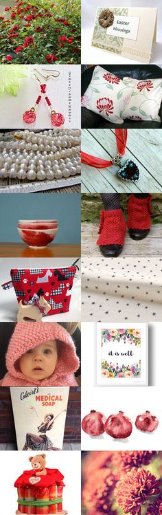 Roses are Red by Marianne on Etsy--Pinned+with+TreasuryPin.com
