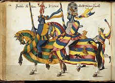 Album of Tournaments and Parades in Nuremberg, late 16th–mid-17th century. German, Nuremberg. The Metropolitan Museum of Art, New York. Rogers Fund, 1922 (22.229) #horses