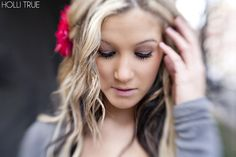 seniors, holli true, make up, hair styling, posing, lensbaby