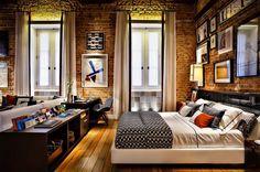 De tijolos aparentes a ambientes românticos, tem inspiração para todos os gostos
