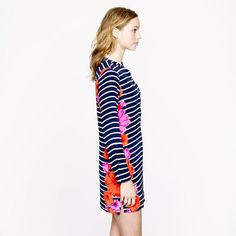 Floral stripe tunic - beach cover-ups - Women's Women_Shop_By_Category - J.Crew