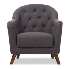 Found it at Joss & Main - Baxton Studio Niccolo Upholstered Club Chair