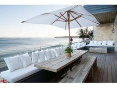 """This is certainly the place for hosting an awesome """"backyard,"""" party or get-together. The ocean views are unparalleled! Malibu, CA Coldwell Banker Residential Brokerage $10,250,000"""