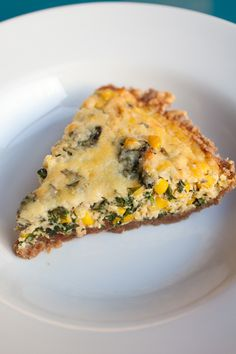 Chard, Pancetta, and Pecorino Quiche from French Revolution Food ...