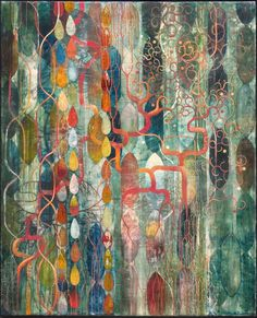Encaustic Art Institute: Earthly Delights - Encaustic Paintings by Russell Thurston