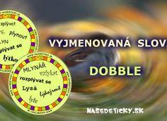 Vyjmenovaná slova – DOBBLE Venus, Periodic Table, School, Teaching Ideas, Periotic Table, Venus Symbol