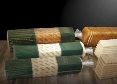 Pan de molde en diferentes formatos y variedades: blanco, integral, sin corteza...
