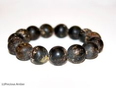 Natural raw Baltic amber bracelet for men dark baltic amber unisex elastic bracelet amber adult bracelet amber beads Amber Bracelet, Beaded Bracelets, Baltic Amber, Unisex, Dark, Trending Outfits, Natural, Unique Jewelry, Handmade Gifts
