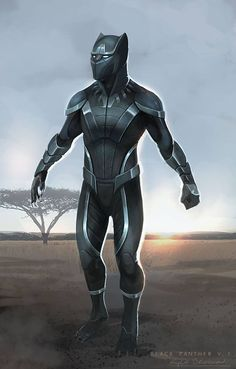 ArtStation - Marvel Cinematic Universe- Black Panther, Kyle Brown