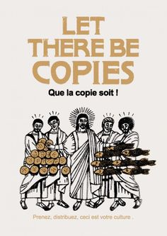 Let there be copies Culture, Illustrations, Mosaic, Let It Be, Design, Grand Format, Mythology, Religion, Students
