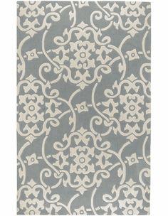 Silver Gray Cosmopolitan Rug - nursery