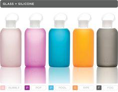 BKR bottles make water delicious.