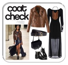 """""""Indigo Flow"""" by auntmidnight ❤ liked on Polyvore featuring ASOS, Shelly Brown, H&M and coatcheck"""