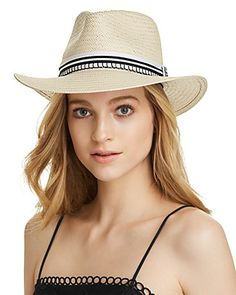 e6676bbcacc17 rag   bone Packable Striped-Trim Fedora Jewelry   Accessories -  Bloomingdale s