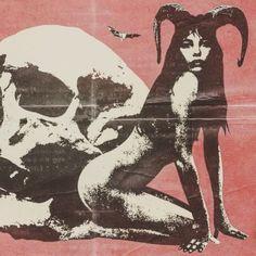 Pagan Esoterica: The Ram, Ovaries, Divine Feminine, Baphomet and Goddess Movements – All Truth Exposed Retro Horror, Vintage Horror, Retro Vintage, Kunst Inspo, Art Inspo, Arte Horror, Horror Art, Fantasy Kunst, Fantasy Art