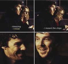 "Sherlock BBC ""The Lying Detective"" (4x02) they can laugh together. She isnt being ironic hahhahaaha"