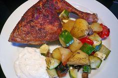 Hähnchenschenkel mit Ofen - Schmand - Gemüse, ein tolles Rezept aus der Kategorie Geflügel. Bewertungen: 282. Durchschnitt: Ø 4,5.
