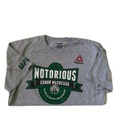 Reebok UFC Fan Long Sleeve Men/'s Sports Top Casual Longsleeve MMA Shirt