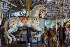 Carousel Photography   Carousel At Lighthouse Point Park - New Haven, Ct - Aug 6, 2010 by D ...