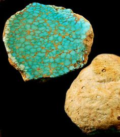 Natural Number 8 Spiderweb Turquoise  Clam  - we have just created a great new informational page on Spiderweb Turquoise Cabochons, we invite you to check it out by following this link.