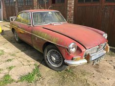 MG B GT, 1967 MK1 BARN FIND TIME WARP. PROJECT, SPARES OR REPAIRS SOLID CAR | eBay