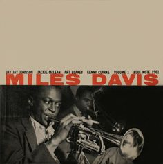 My father had quite a record collection in the 1970's. Miles Davis: Vol. 1