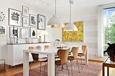 Bilder, Kök/matplats, Matbord, Tavla, Lampa - Hemnet Inspiration