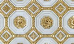 """Zoë Design: Day 140 Wallpaper-a-day """"Cake"""" #WallCoverings #InteriorDesign #TrompeLoeilMoldings"""