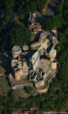 ✈️ Photo aérienne de Bonaguil - Lot-et-Garonne (47)