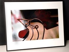 Metal Rooster Framed Photograph by EnchantedStudios on Etsy, $75.00