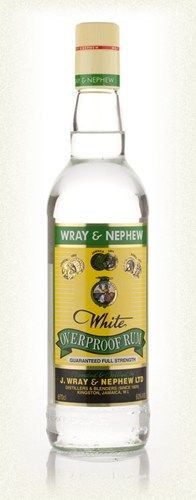 Wray and Nephew White Overproof. If you're going to use Rum. Use this one.