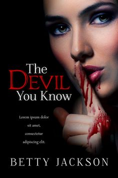 The Devil You Know - Horror Book Cover For Sale at Beetiful Book Covers