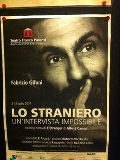 Teatro Franco Parenti , Lo Straniero 2-3 luglio