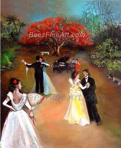 La Danza Puertorriqueña| Art - Puerto Rican Art - Puerto Rican Artist Elizabeth Erazo Baez -