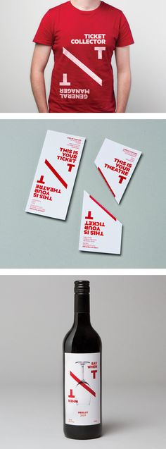 New Theatre Identity by Interbrand | Inspiration Grid | Design Inspiration PD