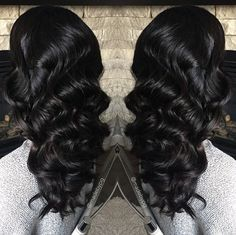 50 Fresh Romance Curl Weave Hairstyles