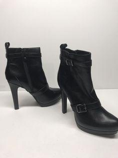 3d3ec7fee8b SIMPLY VERA WANG WOMEN S HIGH HEELS PUMPS SHOES BLACK SIZE 8 Buckle   fashion  clothing