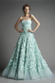 2014 Yaz Düğünü için konsept renk uyumu