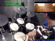 """Drummer problems...? you take the course """"learn to play drums step by step"""" at school4drums.com Step by step I'll teach you how to play drums! This method will allow you to, """"step by step"""", produce, recognize as well as handle the drum kit."""