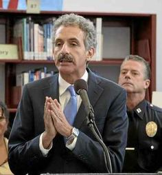 A judge on Monday denied – for now – Los Angeles City Attorney Mike Feuer's request to appoint a receiver to take steps to make sure occupants are safe in case of a fire at a warehouse near downtow…