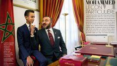 Photo buzz : Mohammed VI et Moulay Hassan dans Paris Match