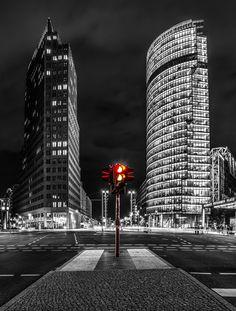 ღღ Berlin, Potsdamer Platz CK Vertical    (by Jean Claude  Castor, via 500px)