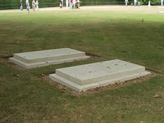 Graves of the Duke and Duchess of Windsor at the Royal Burial Ground, Frogmore, adjacent to Windsor Castle