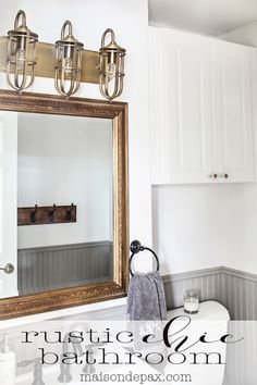 Rustic Chic Half BathModern Small Shower Room Design Ideas jpg  600 744    spain  . Rustic Chic Bathroom Ideas. Home Design Ideas
