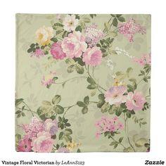 Vintage Floral Victorian Duvet Cover