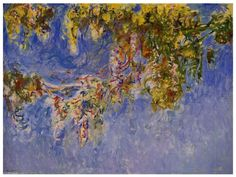 Monet Paintings All | Claude Monet Paintings all time- Wisteria 1 Painting from Claude Monet ...