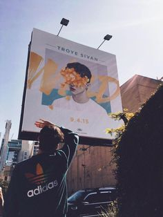 I'm so proud of Troye I mean look at that he has a billboard about his album *wipes tear away* MY BABY TROYE IS GROWING UP